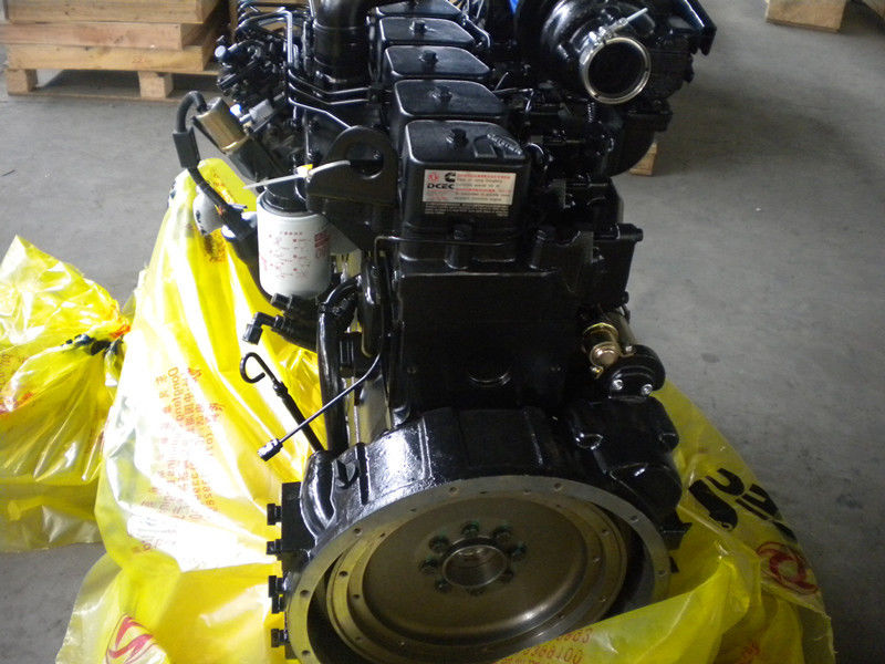 130 HP Turbocharged Diesel Engine Motor , Commercial Diesel Engines Low Discharge