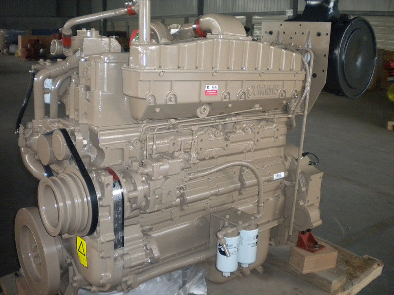NTA855-P450 Stationary Diesel Engine , Agricultural Diesel Engines With Power Take Off